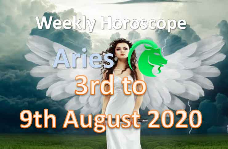 aries weekly horoscope 3rd to 9th august 2020