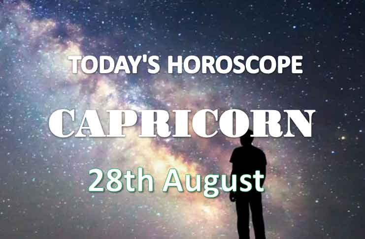 capricorn daily horoscope 28th august 2020