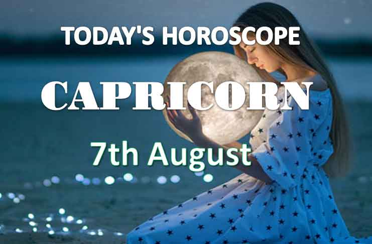capricorn daily horoscope 7th august 2020