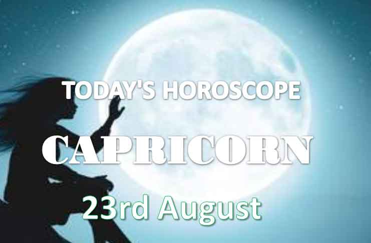 capricorn daily horoscope 23rd august 2020