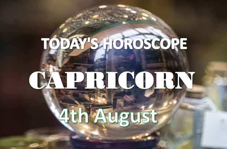 capricorn daily horoscope 4th august 2020
