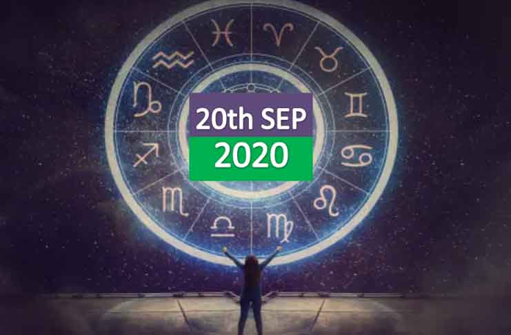 daily horoscope 20th september 2020