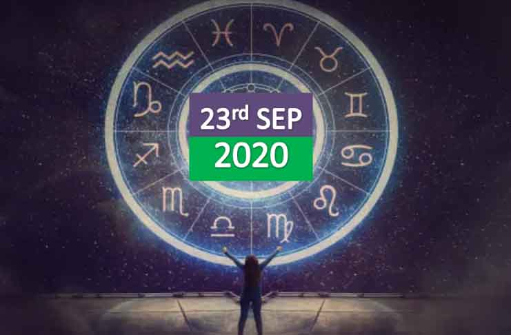 daily horoscope 23rd september 2020