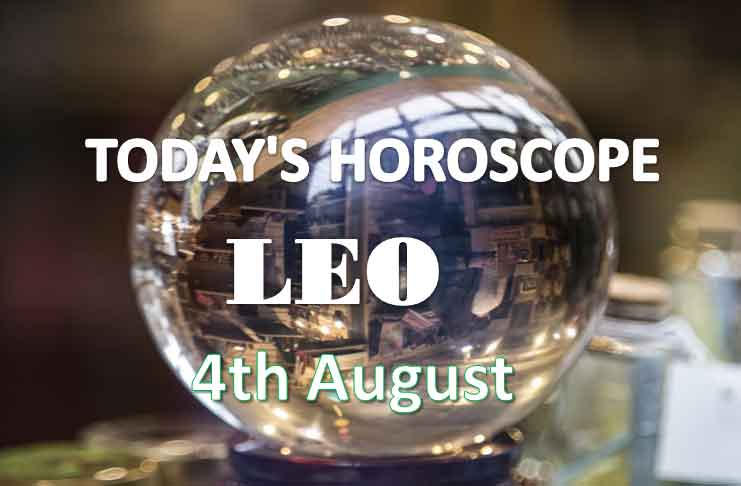 leo daily horoscope 4th august 2020