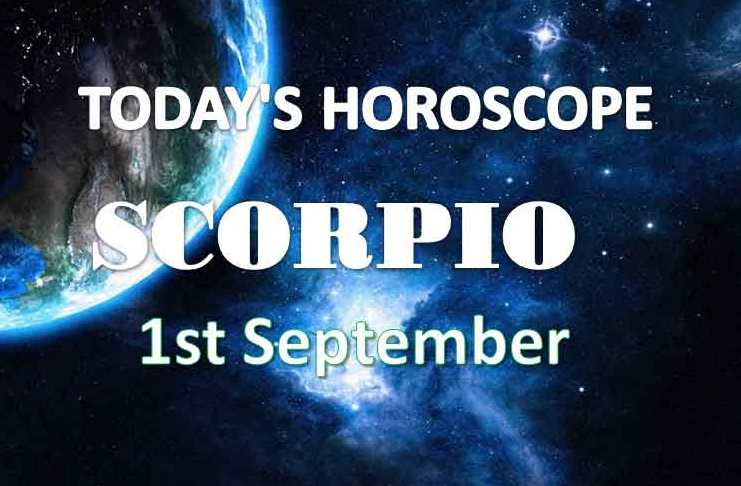 scorpio daily horoscope 1st september 2020