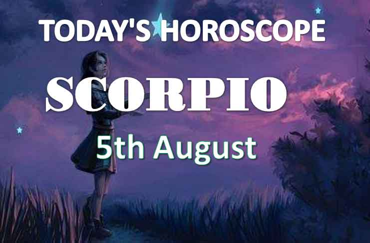 scorpio daily horoscope 5th august 2020