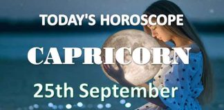 capricorn daily horoscope 25th september 2020