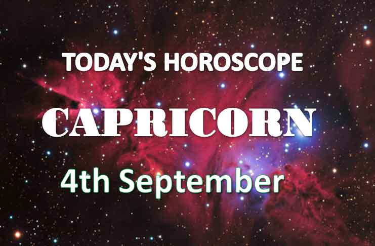 capricorn daily horoscope 4th september 2020
