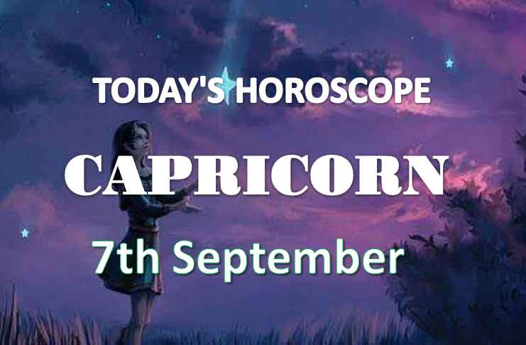 capricorn daily horoscope 7th september 2020