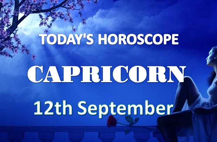 capricorn daily horoscope 12th september 2020