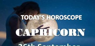 capricorn aries daily horoscope 26th september 2020