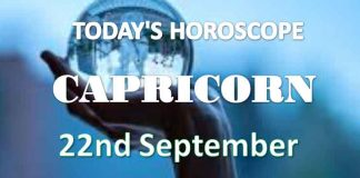 capricorn daily horoscope 22nd september 2020
