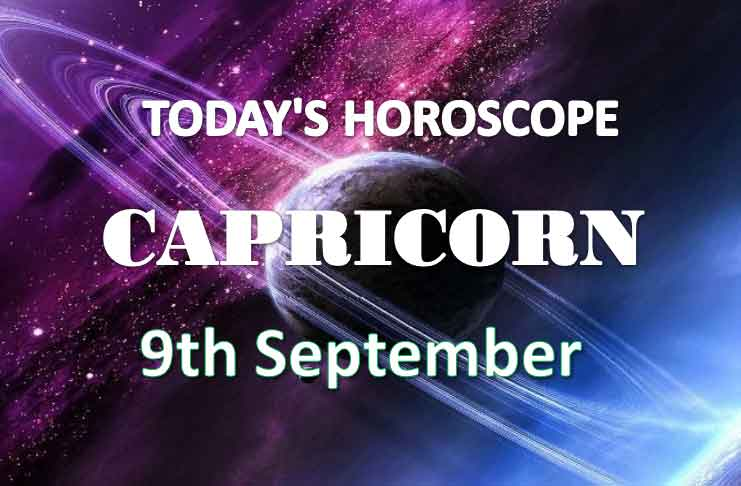 capricorn daily horoscope 9th september 2020