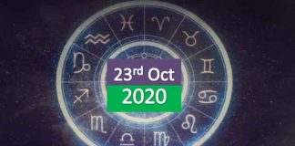 daily horoscope 23rd october 2020