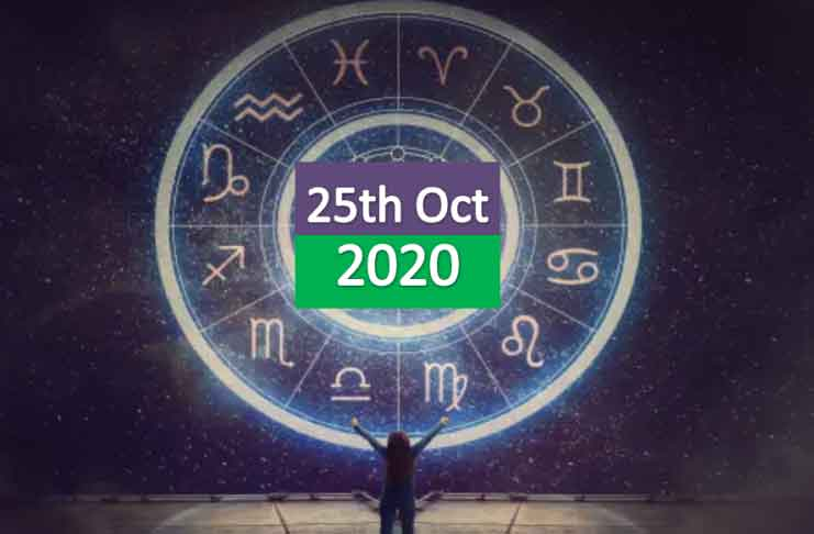 daily horoscope 25th october 2020