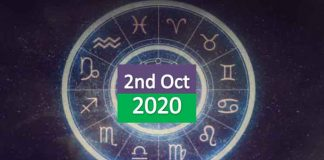 daily horoscope 2nd october 2020