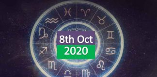 daily horoscope 8th october 2020