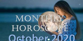 monthly horoscope of october 2020