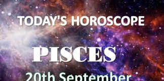 pisces daily horoscope 20th september 2020