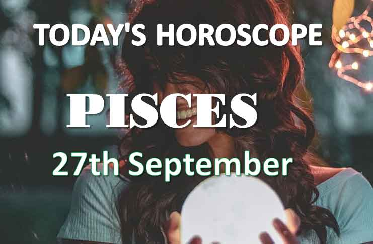 pisces daily horoscope 27th september 2020