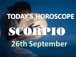 scorpio aries daily horoscope 26th september 2020