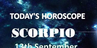scorpio daily horoscope 13th september 2020