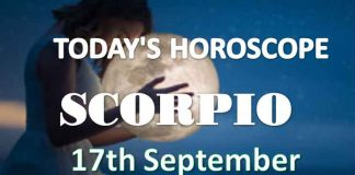 scorpio daily horoscope 17th september 2020