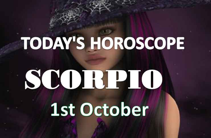 scorpio daily horoscope 1st october 2020