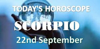 scorpio daily horoscope 22nd september 2020
