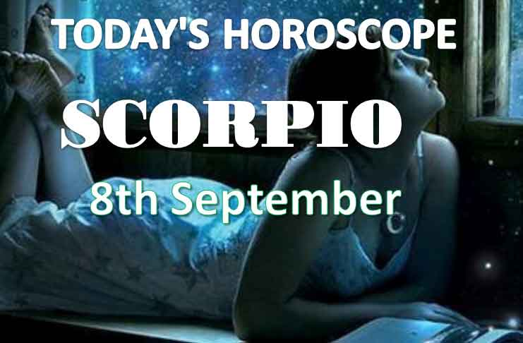 scorpio daily horoscope 8th september 2020