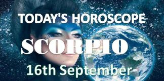 scorpio daily horoscope 16th september 2020