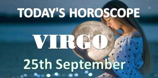 virgo daily horoscope 25th september 2020