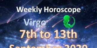 virgo weekly horoscope 7th to 13th september 2020