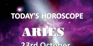 aries daily horoscope 23rd october 2020