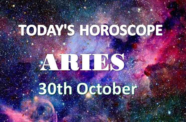 aries daily horoscope 30th october 2020