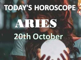 aries daily horoscope 20th october 2020
