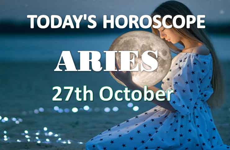 aries daily horoscope 27th october 2020