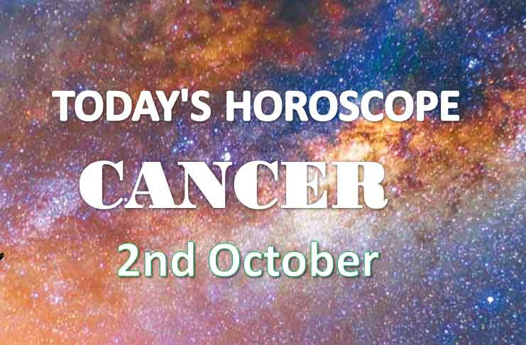 cancer daily horoscope 2nd october 2020