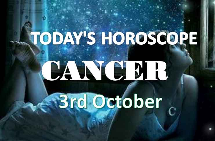 cancer daily horoscope 3rd october 2020