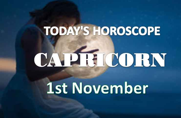 capricorn daily horoscope 1st november 2020