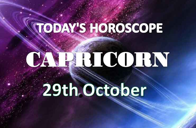 capricorn daily horoscope 29th october 2020
