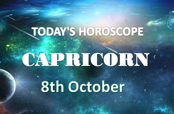 capricorn daily horoscope 8th october 2020