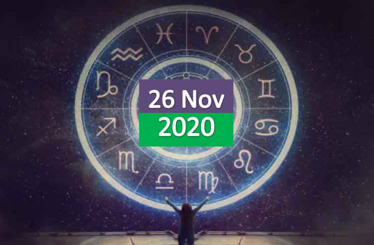 daily horoscope today 26th november 2020