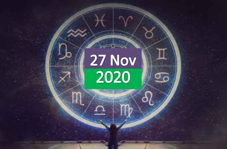 daily horoscope today 27th november 2020