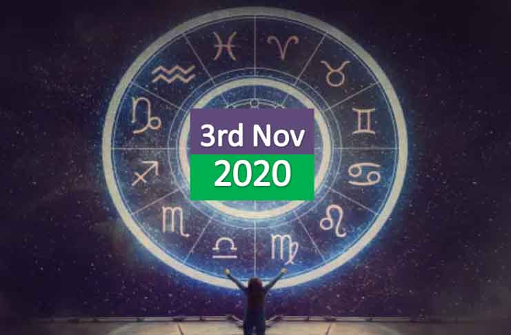 daily horoscope today 3rd november 2020