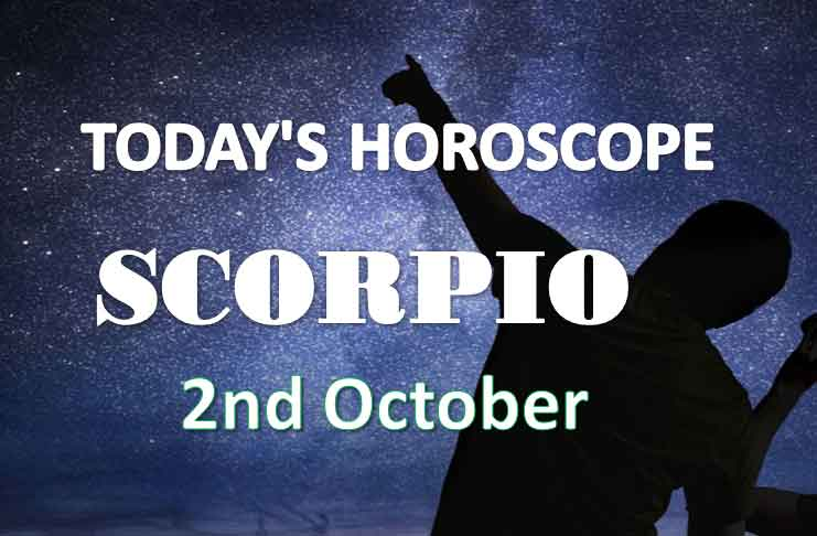 scorpio daily horoscope 2nd october 2020