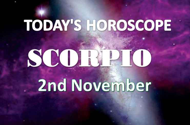 scorpio daily horoscope 2nd november 2020