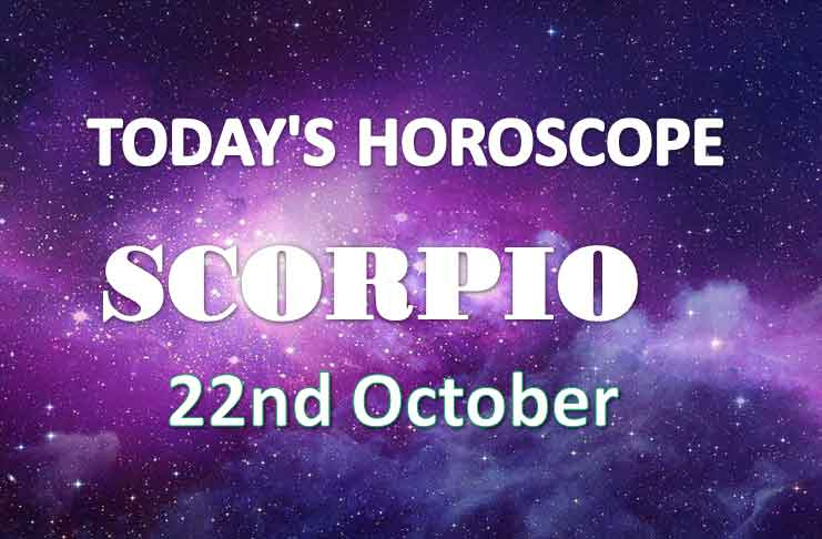 scorpio daily horoscope 22nd october 2020