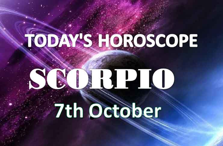 scorpio daily horoscope 7th october 2020