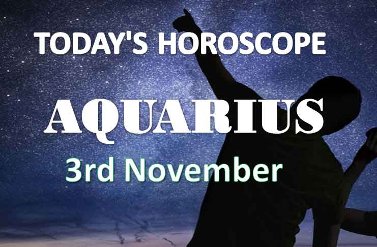 aquarius daily horoscope 3rd november 2020